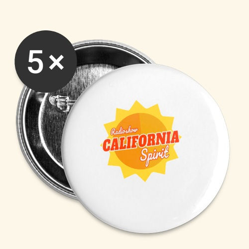 California Spirit Radioshow - Badge petit 25 mm