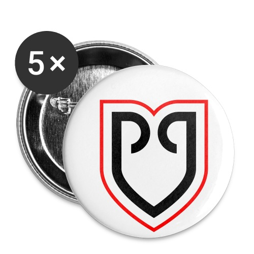 Rollapaluza Logo for use on white - Buttons small 1''/25 mm (5-pack)