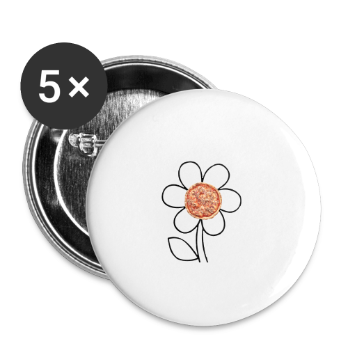 Pizzaflower Edition - Buttons klein 25 mm
