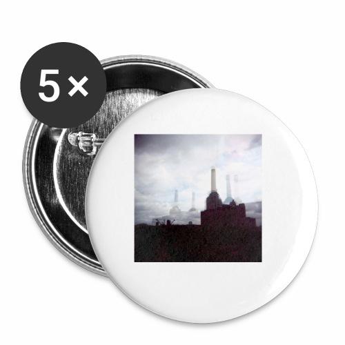 Original Artist design * Battersea - Buttons small 1''/25 mm (5-pack)