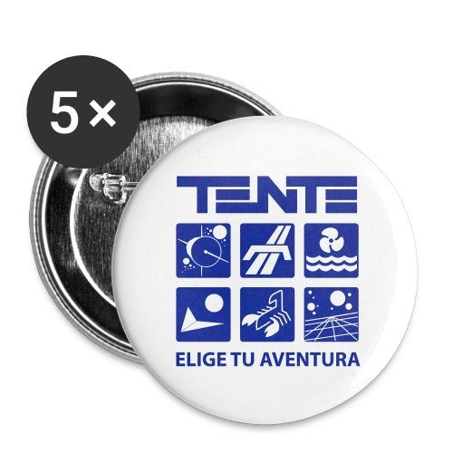Series de TENTE: Elige tu aventura - Paquete de 5 chapas pequeñas (25 mm)