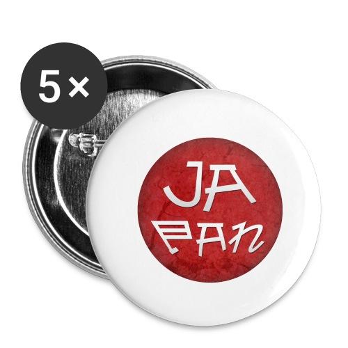 Japan - Lot de 5 petits badges (25 mm)