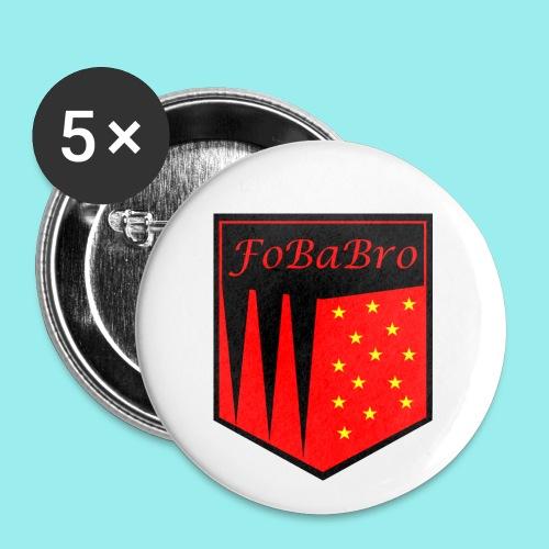 FoBaBro Wappen - Buttons klein 25 mm (5er Pack)