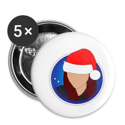 discoxmas - Buttons small 1''/25 mm (5-pack)