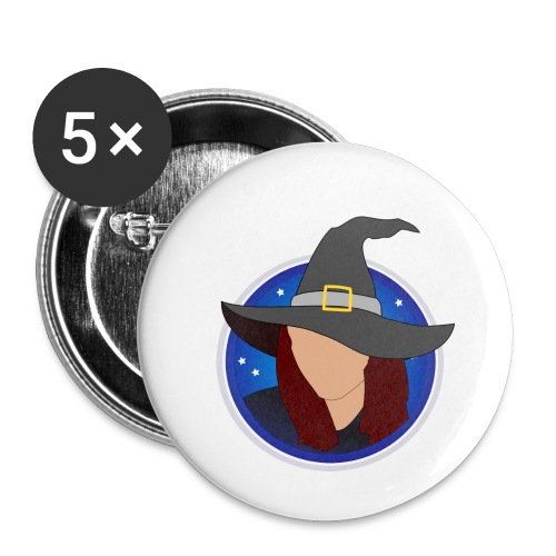 discowitch - Buttons small 1''/25 mm (5-pack)