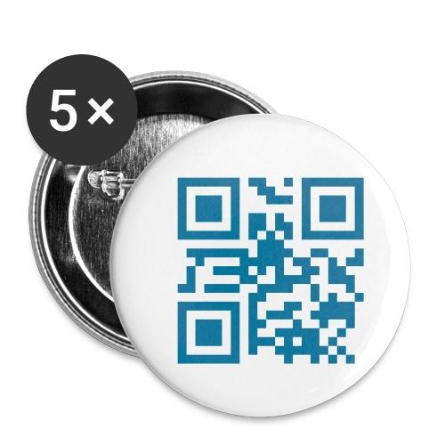 emc2 - Paquete de 5 chapas pequeñas (25 mm)
