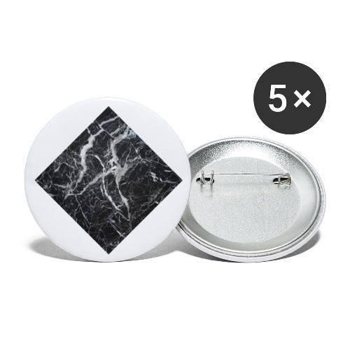 marble - Buttons klein 25 mm (5-pack)