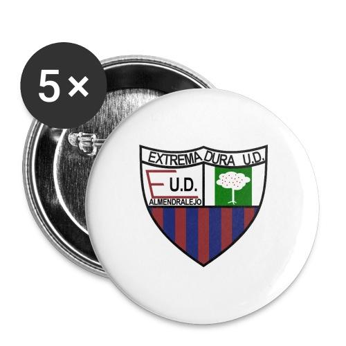 extremaduralogo - Paquete de 5 chapas pequeñas (25 mm)