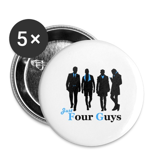 Just Four Guys - Buttons small 1''/25 mm (5-pack)