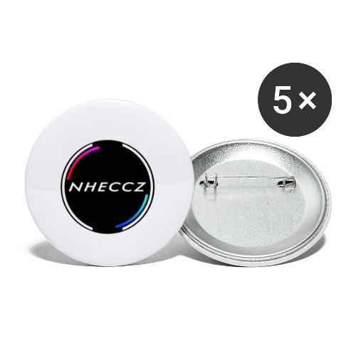 NHECCZ Logo Collection - Buttons small 1''/25 mm (5-pack)