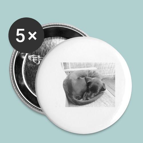 Kaline schläft IV - Buttons klein 25 mm (5er Pack)