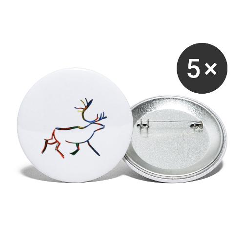 Rein - Liten pin 25 mm (5-er pakke)