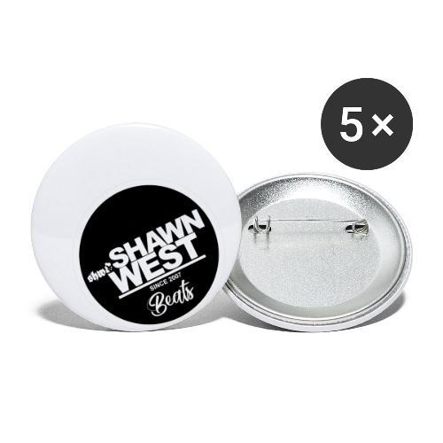 SHAWN WEST BUTTON - Buttons klein 25 mm (5er Pack)
