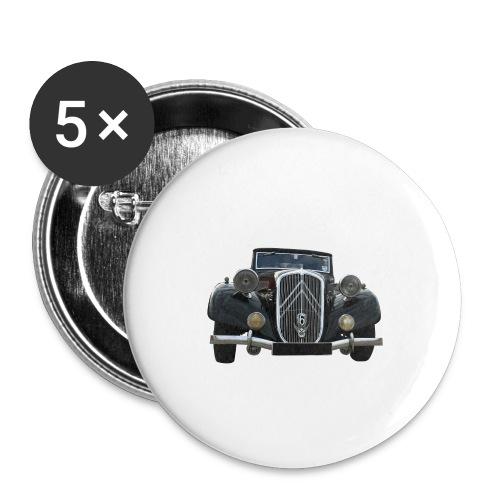 traction - Lot de 5 petits badges (25 mm)