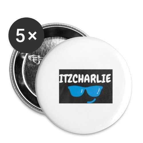 ITZCHARLIE BADGES/BUTTONS - Buttons small 1''/25 mm (5-pack)