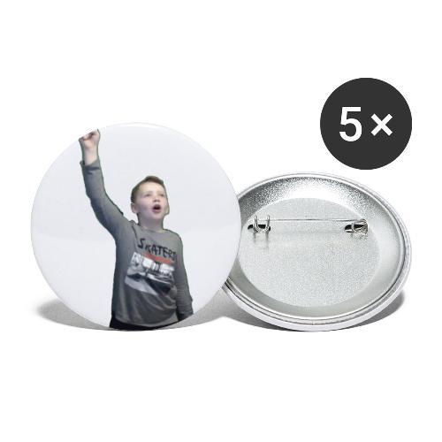 Kenti drar til verdensrommet - Liten pin 25 mm (5-er pakke)