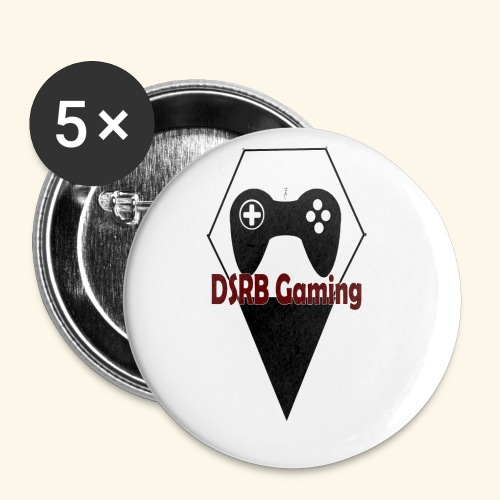 DSRB Gaming - Buttons klein 25 mm (5-pack)