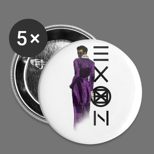 Emotionless Passion Exon - Buttons small 1''/25 mm (5-pack)