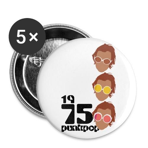 Elton PunkPop 1975 - Confezione da 5 spille piccole (25 mm)