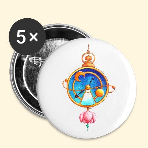Montre Magique - Badge petit 25 mm