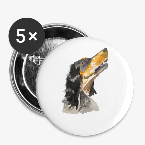 English Setter - Buttons small 1''/25 mm (5-pack)