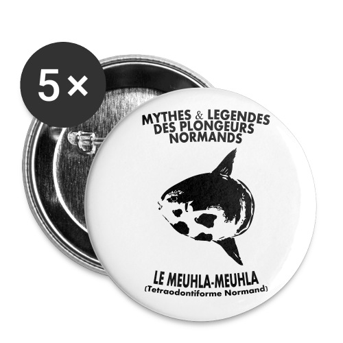 Meuhla-Meuhla - Lot de 5 petits badges (25 mm)