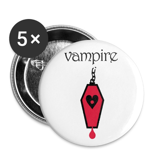 Vampire - Buttons small 1''/25 mm (5-pack)