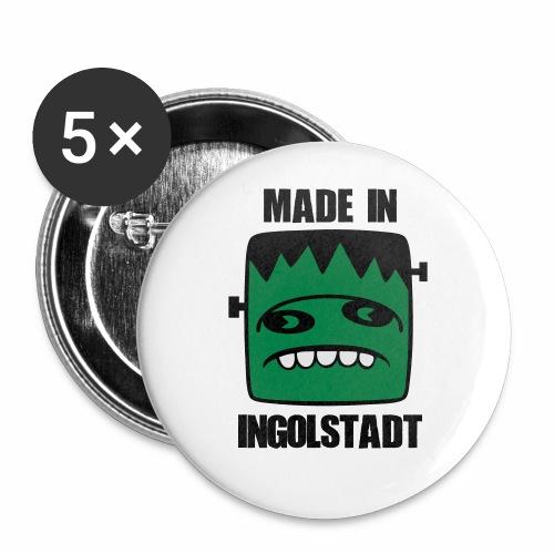 Fonster made in Ingolstadt - Buttons klein 25 mm (5er Pack)