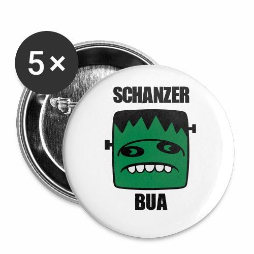 Fonster Schanzer Bua - Buttons klein 25 mm (5er Pack)
