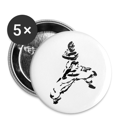 kungfu - Buttons small 1''/25 mm (5-pack)