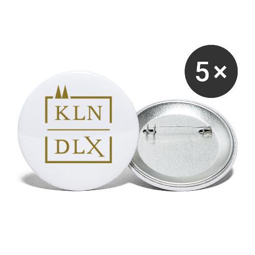 Köln Deluxe - Buttons klein 25 mm (5er Pack)