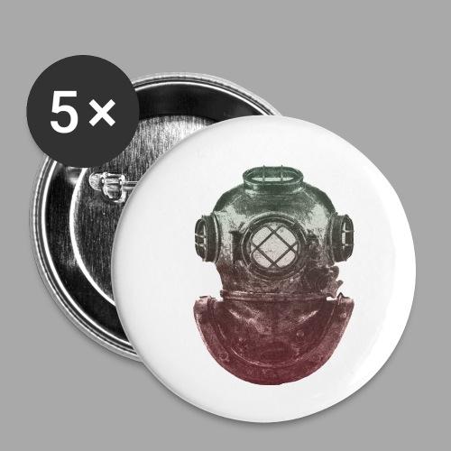 Diver - Rintamerkit pienet 25 mm (5kpl pakkauksessa)