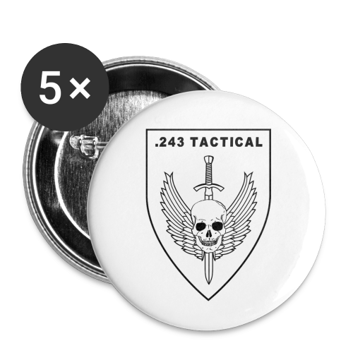 Club Logo - Buttons klein 25 mm (5-pack)