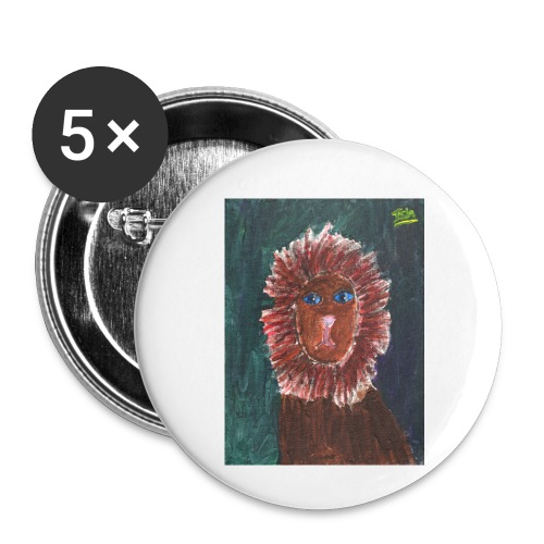 Lion T-Shirt By Isla - Buttons small 1''/25 mm (5-pack)