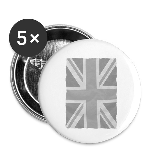 Grey Britainia - Buttons small 1''/25 mm (5-pack)