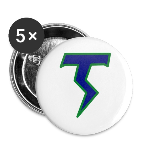 Thunder T png - Buttons small 1''/25 mm (5-pack)