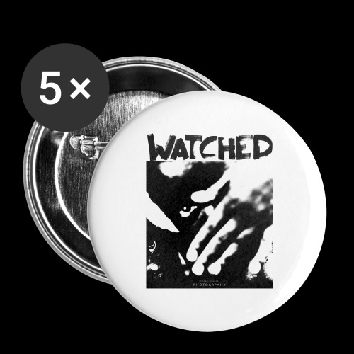 Watched - Buttons klein 25 mm (5er Pack)