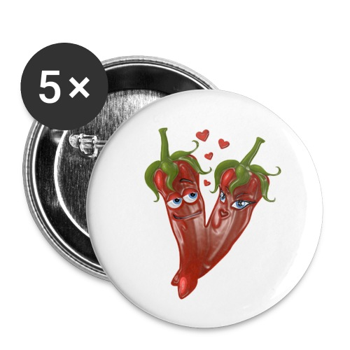 I'm Really Hot MUG - Buttons small 1''/25 mm (5-pack)