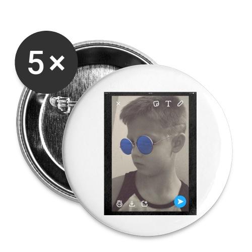 Simpalito100 - Små knappar 25 mm (5-pack)