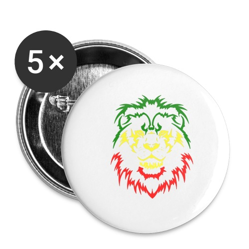 KARAVAAN Lion Reggae - Buttons klein 25 mm (5-pack)
