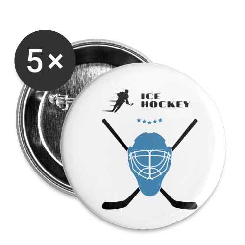 IceHockey - Rintamerkit pienet 25 mm (5kpl pakkauksessa)