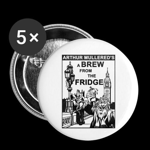 A Brew from the Fridge v2 - Buttons small 1''/25 mm (5-pack)