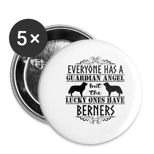 Bernese Berner Angel - Buttons small 1''/25 mm (5-pack)