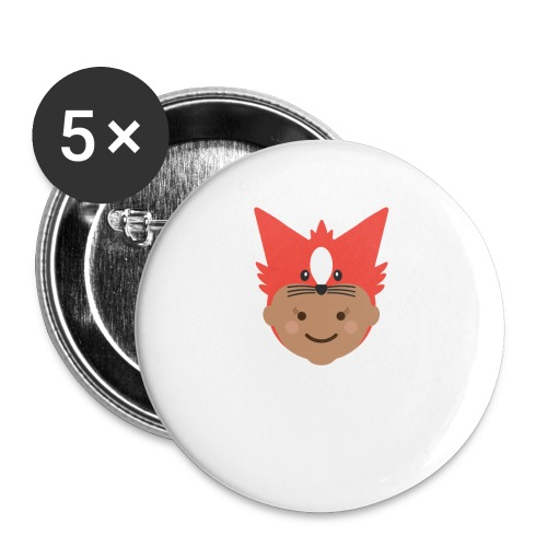 Florence the Fox | Ibbleobble - Buttons small 1''/25 mm (5-pack)