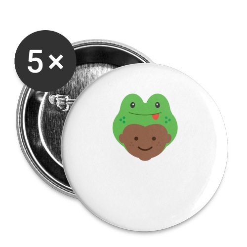 Tom the Frog   Ibbleobble - Buttons small 1''/25 mm (5-pack)