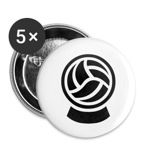 kickprophet logo small sw c 2011 BungartBessler - Buttons klein 25 mm (5er Pack)