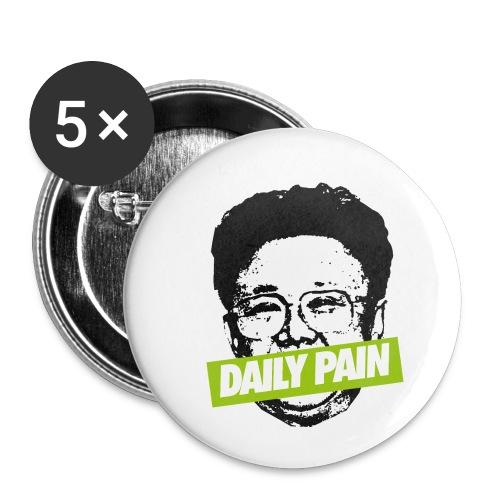 daily pain cho - Przypinka mała 25 mm (pakiet 5 szt.)