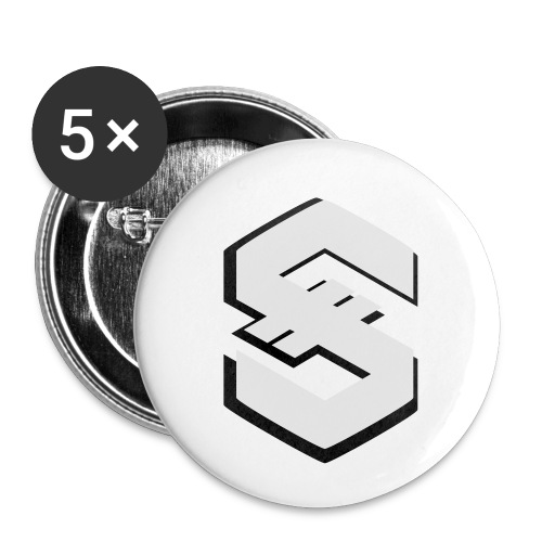 signumGamer - Buttons small 1''/25 mm (5-pack)