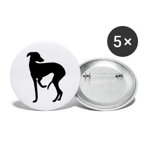 Windspiel - Buttons klein 25 mm (5er Pack)