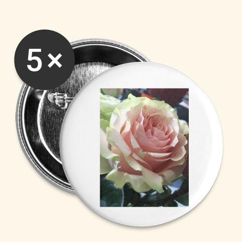 Roses - Buttons klein 25 mm (5er Pack)